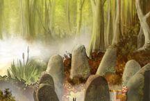 Imaginary landscapes, Fantazyjne krajobrazy