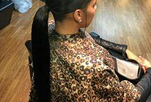 Hair on fleek