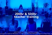 Teacher Training / Moksha Teacher Training & In-Depth Studies 200-hr Foundational Program certification program approved by Yoga Alliance for teacher trainees and students wishing to deepen their practice and understanding of yoga