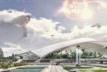 Sci-Fi Arch Exterior
