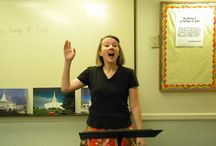 Primary singing time