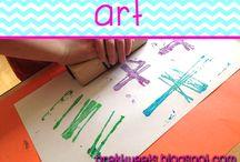Art / Art activities and artist studies geared toward pre-k and kindergarten students.