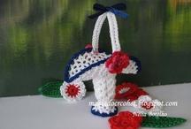 Os meus mini crochets