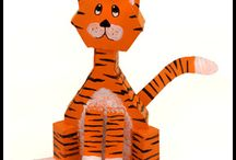 Cereal Box Crafts for Kids / Cereal Box Crafts for Kids - Recycle Crafts