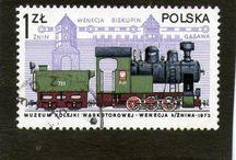 Kolejowe znaczki polskie