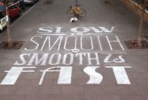 advertising/ marketing using stencils / customers use our stencils to do Gorilla Marketing with sidewalk chalk. It WORKS!