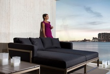 Exterior - muebles de diseño / Muebles de exterior. Gandía Blasco, Kristalia, etc.