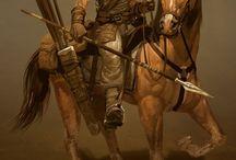 horse, horseman