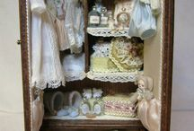 Nursery / Miniature Nurseries and Inspiration for 1:12 Inch Miniature Projects / by Polly Morris