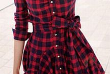 How to wear shirt dresses and checked shirts