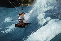 / kite surfing
