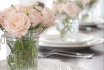 Dinner Party Bouquets / Floral Ideas for Dinner Parties