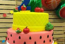 Festa das frutas / Festa de 2 anos com o tema two-ti-frutti