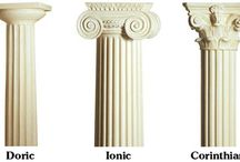 Ancient Architecture column