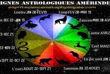 Signes astrologiques....