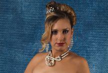 Gala, Party hairstyle and Gala, Party Make-up / Gala hairstyle and Gala Make-up by Trendy Haar Uw galakapsel of feestkapsel en make up/ visagie door Trendy Haar
