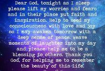 Night Time prayer