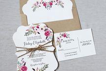 Tipos de Convites e Cartão Visita