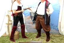 Pirates & Ships & Exploration / Of fantasy and fiction and reality of the time of privateers, pirates and professional sea-merchantmen. Men who go down to the sea in ships . . .