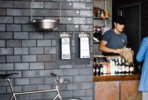 RESTAURANT BAR DESIGN / Urban Modern Eclectic Restaurant Design Inspiration