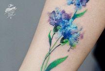 Татуировка Оля