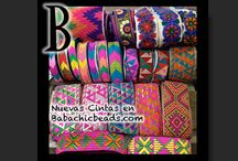 Customize zone / Ethnic ribbons, braids, trimmings to customize your bags, baskets, clothes and so on  Cintas étnicas, pasamanería étnica  Galons Ethniques