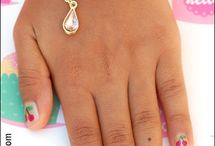 Peyton nail art / by Tina Katz