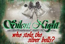 Who Stole the Silver Bells - Christmas Mystery Party Game by My Mystery Party / My Mystery Party (http://mymysteryparty.com) presents Who Stole the Silver Bells - a fun non-murder Christmas mystery party for 8-~40 guests, ages 13+ for difficulty.  http://www.mymysteryparty.com/whostsibenmy.html