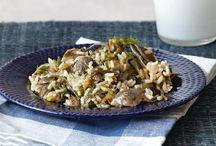 Pasta & Rice: Seafood