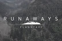 FIELD GUIDE: FLAGSTAFF, AZ / This small mountain town in the U.S. state of Arizona, surrounded by mountains, desert and ponderosa pine forests and find out why runner's - such as Saucony racing athletes Chelsea Sodaro, Julian Matthews, Nate Brannen, Brian Shrader and Eric Finan - come en masses to Flagstaff for the elevation gain and easy access to lower elevation in Sedona. Photos by: Jason Suarez.