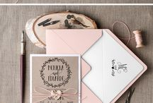 Stationery: Rustic Romance