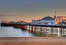 Brighton / An icon of British seaside fun, combining kitsch beach pleasures with stylish eating and shopping. http://www.secretearth.com/destinations/214-brighton