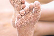 Negle hår fødder / Negle hår fødder