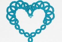 Cœurs en crochet