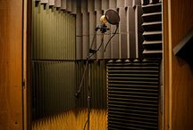 Recording Studio / The importance of acoustics in a recording studio. Check out our acoustic solutions and furniture on our website: http://buzzi.space/category/products/acoustic-solutions/