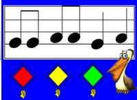 Teach music - Smart board
