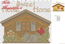 HOME SWEET HOME PUNTO CROCE