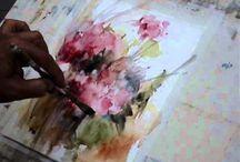 Art- Watercolor Tutorials / by Donna Starkey