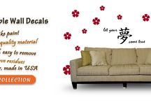 Removable Wall Stickers / Wall sticker labels are wall fine art that immediately add freshness and make over to your house design. You could alter the look and setting anywhere in your house be it your living room, little ones space, infant's baby room, teenagers space, bed room, kitchen area, eating etc in an imaginative and easy fashion utilizing them. We have Wall Decor Stickers for youngsters. We serve a huge range for the baby room and little ones ´ rooms.  / by Vinyl Wall Decals