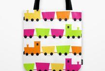 Designers Tote bags SHOP / Original tote bags with different textiles. - Enjoy hand-drawn ORIGINAL Artworks. All artworks are original, PREMIUM QUALITY GOODS. Coloring : sweet pink, black