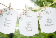 Inspiration • Escort board wedding