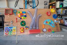 Kids - Sensory Boards / Sensory boards/Busy boards / by Erika Horner