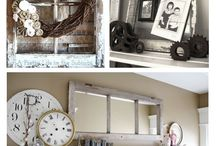 Old windows inspirations / An old window can catch original forms in your home ...