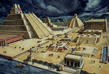 Mayan and Aztec Temples and art