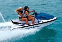 Jamaica Water Sports Activities / Experience Jamaica water sports activities available in Montego Bay, Negril or Ocho Rios. Jamaica's crystal clear, sky blue, sparkling Caribbean sea is hard to resist. Jamaica specialize in Jet Skiing, Windsurfing, Banana Boat Ride, Water Skiing, Glass bottom boat, Scuba Diving, Snorkeling & Deep Sea Fishing,