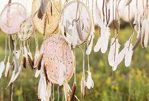 Bohemian/Native American Wedding Theme / Event design ideas