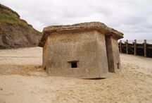 World War Two Concrete Fortifications / Concrete bunkers and pillboxes from the Second World War