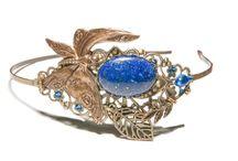 Barrettes, peignes et serre-tetes féeriques et elfiques / Bijoux et accessoires féeriques et elfiques