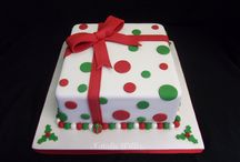 Christmas cakes / Decorated cakes