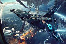 Environments - Futuristic / Cyberpunk